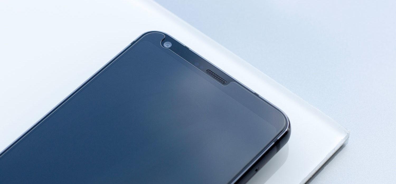 Schutzglas fuer Smartphone