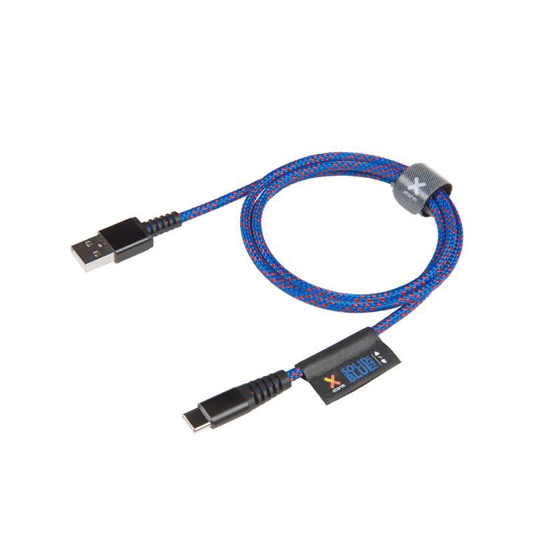 Xtorm Solid Blue USB Ladekabel kaufen