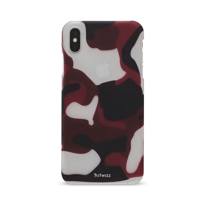 Artwizz Camouflage Clip Red Handyhuelle