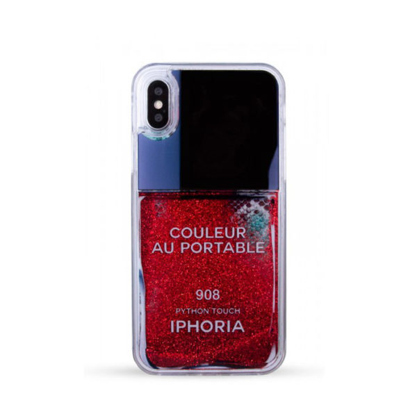 iPhoria Nailpolish Red Snake Handyhuelle