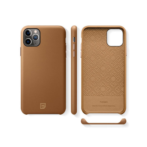 kavar-SPIGEN_LA_MANON_CALIN_IPHONE_11_PRO_MAX_CAMEL_BROWN-3