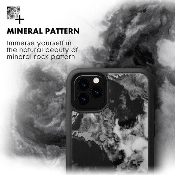Laut Mineral Glass Handyhuelle