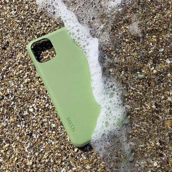 Nachhaltigkeit-Skech-BioCase-Apple-iPhone-11-olive-Lifestyle